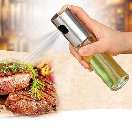 FUNRUI - Dispensador de Aceite para Cocina, Barbacoa, ensaladas, Hornear, Asar,