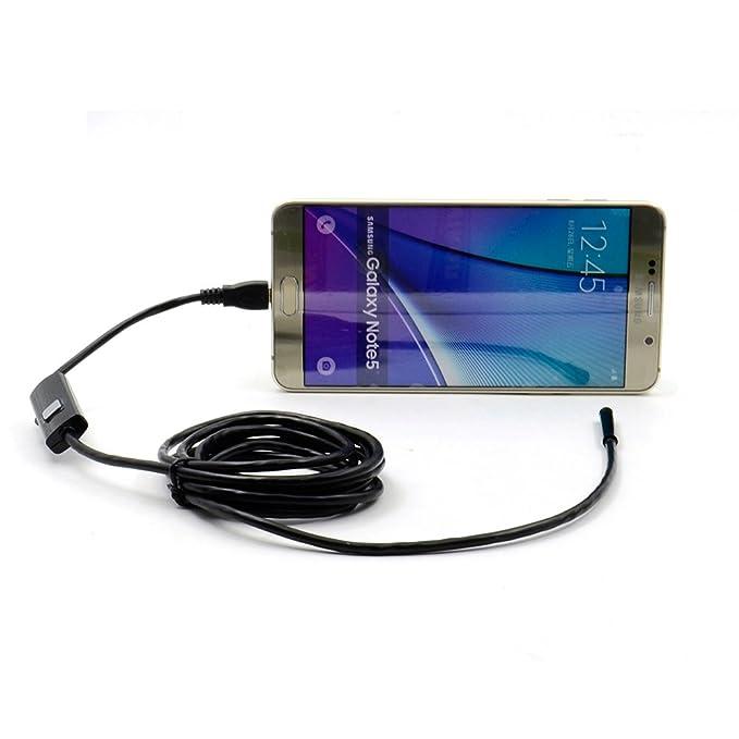 9 opinioni per Impermeabile endoscopio Mini HD 720P Snake Camera tubo 6LED 5,5 millimetri Lens