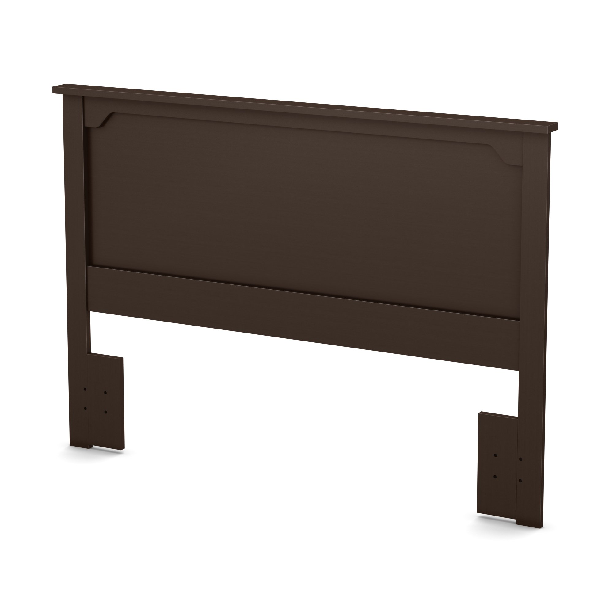 South Shore Fusion Headboard, Full/Queen 54/60-Inch, Chocolate