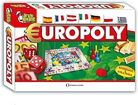 tradeshoptraesio – europoly Monopoly Juego de Empresas Clásico Juego de Mesa Italiano: Amazon.es: Electrónica