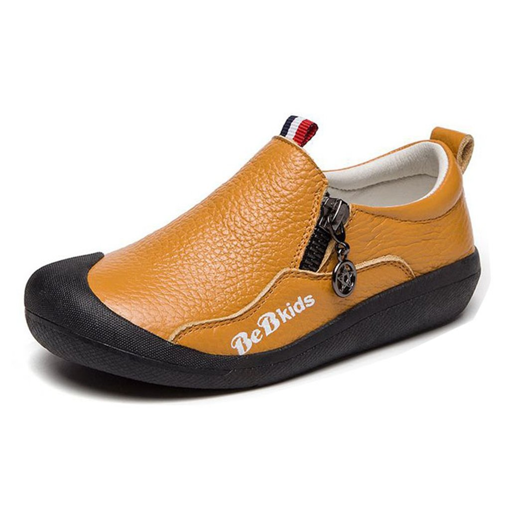 GIY Child's Gril's Leather T-Shaped Strap Oxford Shoes
