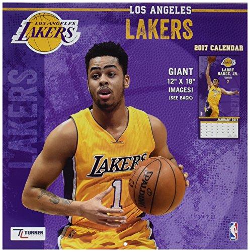 Turner Licensing Sport 2017 Los Angeles Lakers Team Wall ...