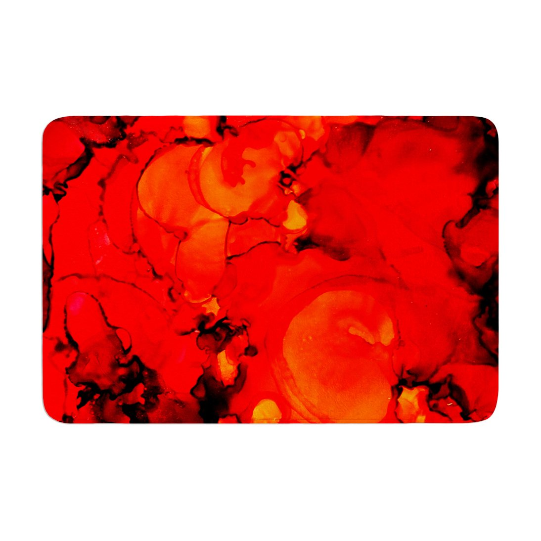 Kess InHouse Claire Day Family Photos II Memory Foam Bath Mat 17 by 24