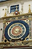 View of the Great Clock in Rouen Normandy Journal: 150 Page Lined Notebook/Diary