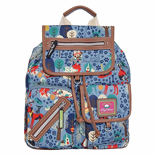 Lily Cell Phone Snap (Lily Bloom Riley Multi-Purpose Backpack (WHO LET DOGS OUT))