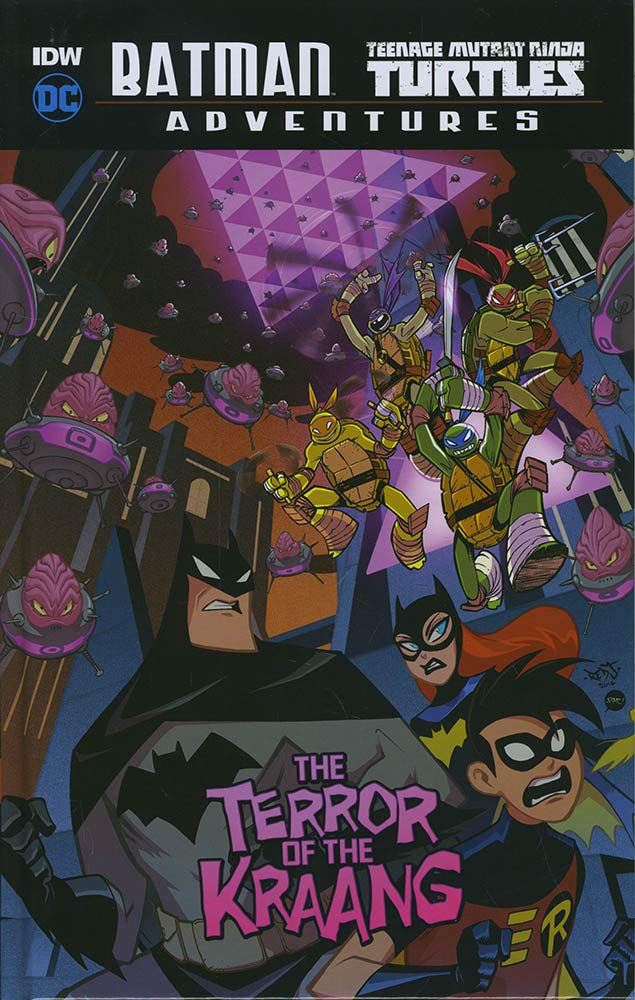 The Terror of the Kraang DC Comics: Batman / Teenage Mutant ...