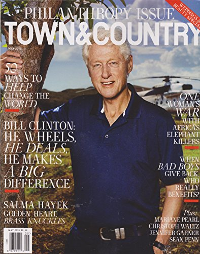 Town & Country Magazine (May, 2015) Bill Clinton Cover