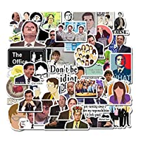 The Office Sticker Pack of 50 Stickers - The Office Stickers for Laptops, The Office Laptop Stickers, Funny Stickers for Laptops, Computers, Hydro Flasks (Office Sticker)