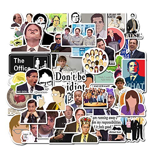 The Office Stickers Pack of 50 Stickers  The Office Stickers for Laptops The Office Laptop Stickers