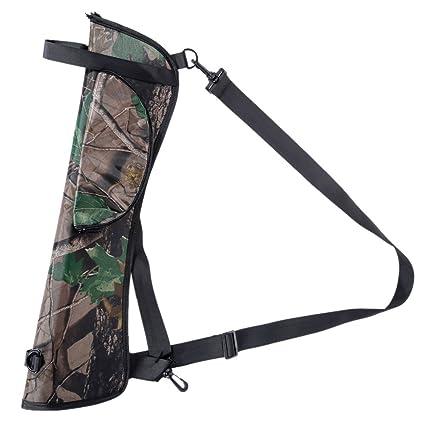 easydeal tiro con arco flecha aljaba para lazo cadera cintura bolsa bolsa para caza al aire
