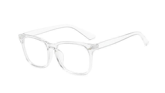 Blue Ray Optics Women's Unisex Blue Light Blocking Computer Glasses - Modern & Stylish (Simple) best blue light blocking glasses for women