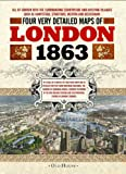 Stanford's Street Maps of London 1863, Edward Stanford, 1908402520