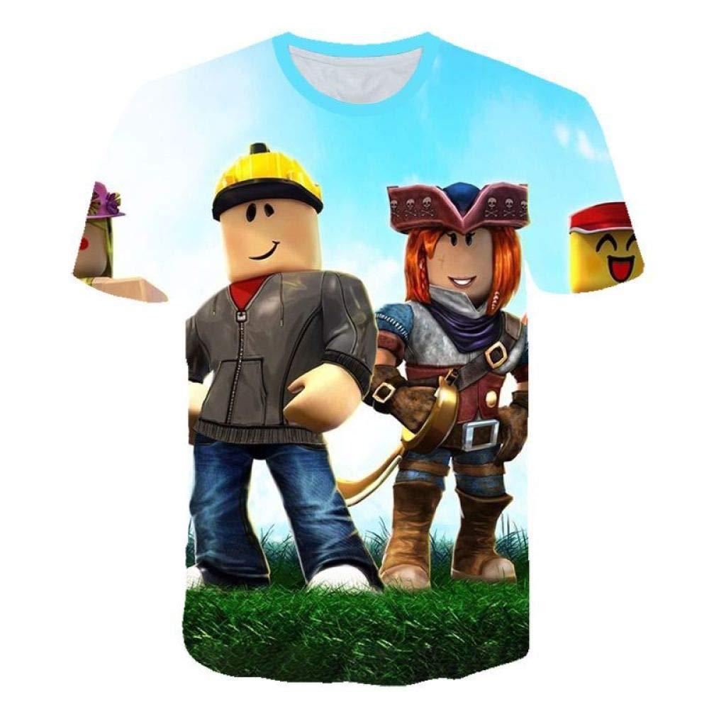 God Driver Camiseta Juego Niño Y Niña / / para Niños 3D Digital Impresión por Roblox Modelo Corto Manga Casual Parte Superior Juventud / A1 / 6 xl110