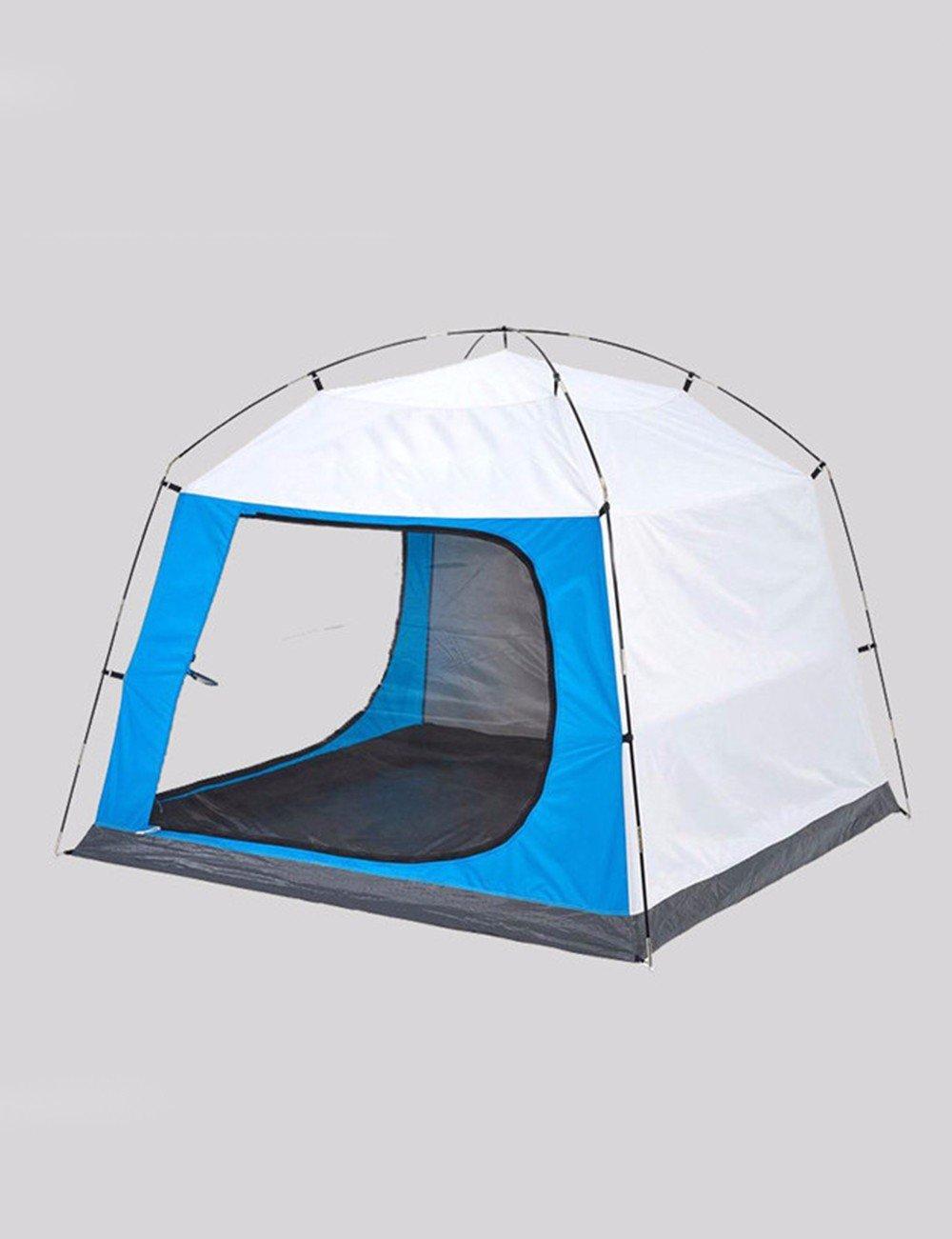 SJQKA-Outdoor Camping 3-4 Personenzelt, Strand Zelt, Vorzelt Zelt, atmungsaktiv Anti-moskito-Sonnencreme Zelt