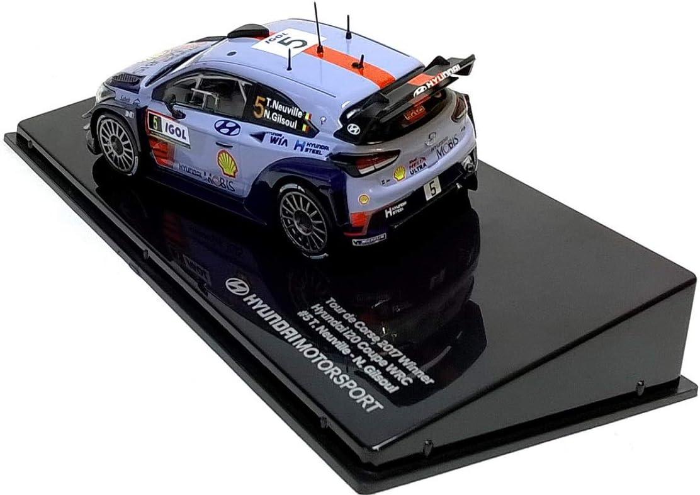 Hyundai I20 Coup/é WRC Motorsport 1//43 Ixo Tour de Corse 2017 Winner Neuville OPO 10
