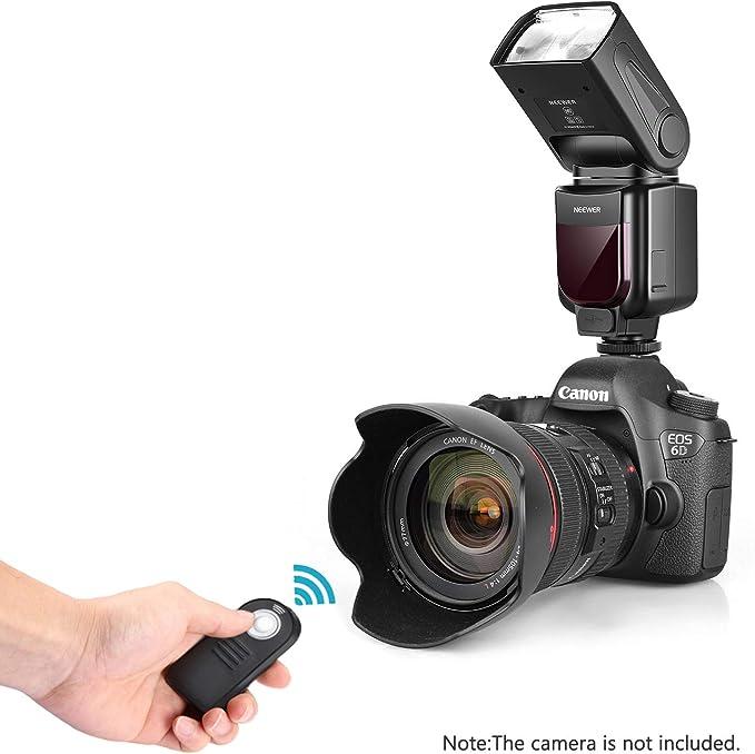 Neewer NW-670 TTL Flash Kit para Canon con Mando a Distancia ...