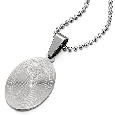 Miraculeuse Croix Jésus Crucifix Coolsteelandbeyond Christ Médaille O0nPwk