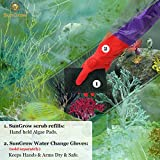 SunGrow 3 Scrub Pads, Cleans Tank from Nooks and