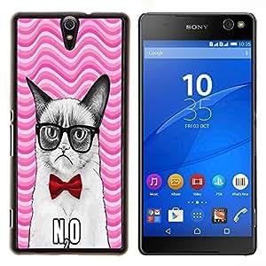 Dragon Case - FOR Sony Xperia C5 Ultra - Don??t explain themselves - Caja protectora de pl??stico duro de la cubierta Dise?¡Ào Slim Fit