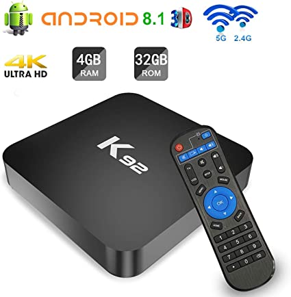 4+32G//4+64GB Android 8.1 Quad Core Amlogic S905X2 Smart 4K TV BOX X96MAX USB 3.0