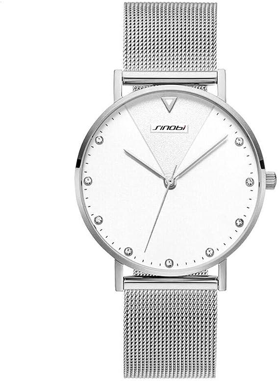 2016 Nueva SINOBI Reloj de la Marca de Lujo Del Diamante de