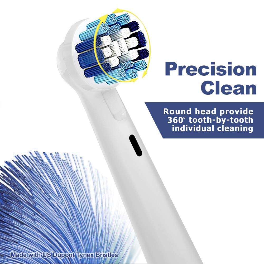 12 Precision Clean Cabezal de Recambio con 4 cappucci igienici ...