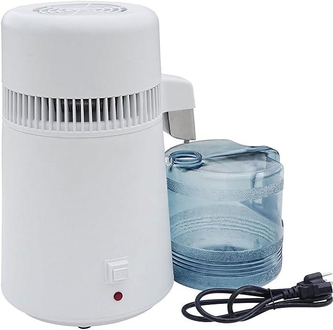 TTLIFE Destilador de Agua Casero Doméstica Water Distiller Purificador Filtro para Hacer Agua Desmineralizada ...