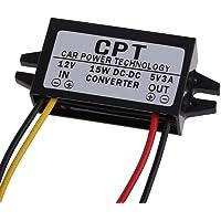 BEBIG 3A DC Converter Regulator 12V to 5V Car Led Display Power Supply (15W)
