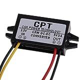 DC/DC Converter Regulator 12V Stepdown to 5V 3A 15W Car Power Supply Module for Cars