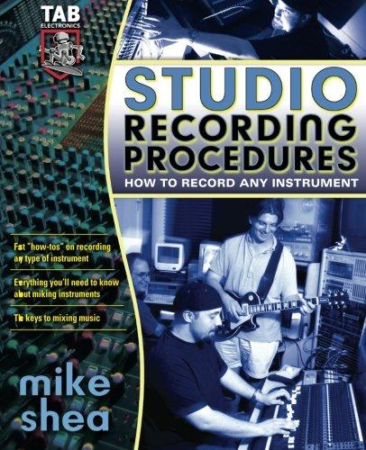 Studio Recording Procedures