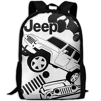 InterestPrint The Car Engine Backpack Novelty School Shoulder Bag Bookbag