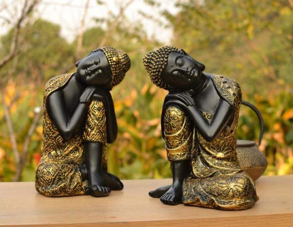 B Ertyuk-Decor Sculptures D/écoratives Statues Objets D/écoratives Bouddha Assis Statue De Bouddha Bouddha Ornement Statue De Bouddha Statue De Bouddha Tha/ïlandais