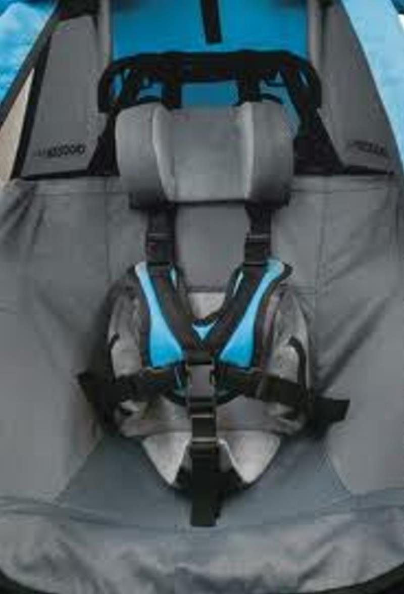 nackenstütze baby fahrradanhänger