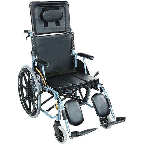 GSS-Rollstühle Silla de Ruedas de Aluminio, Plegable, Ligera ...