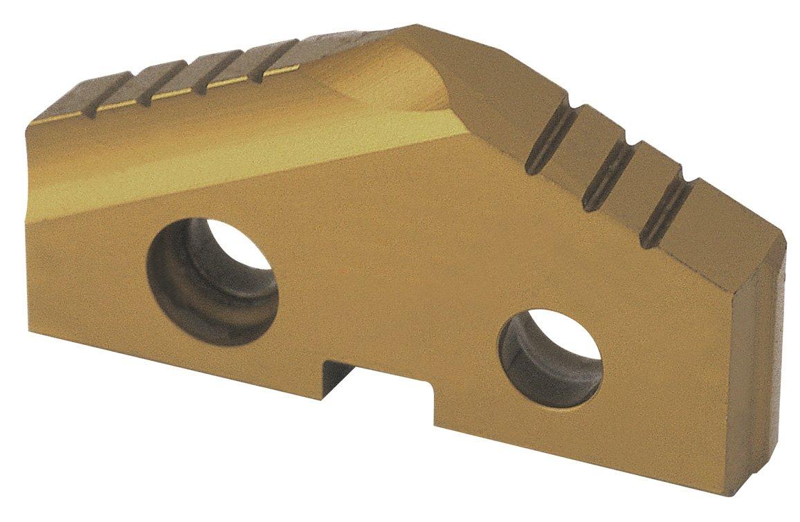 1//8 Thick Pack of 2 TiN Finish 9//16 Diameter 132 Degree YG-1 S110 Cobalt Steel Throw-Away Drilling Insert