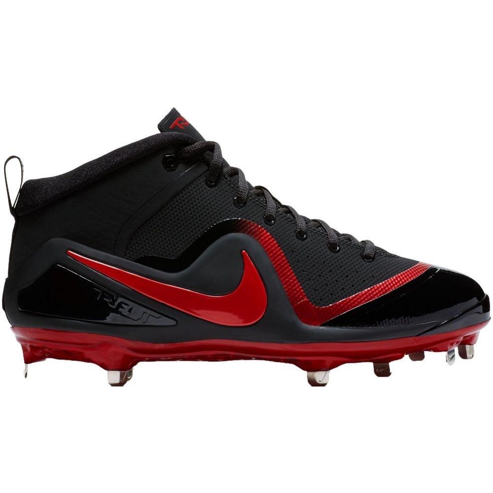 (ナイキ) Nike メンズ 野球 シューズ靴 Force Zoom Trout 4 Mid Metal Baseball Cleats [並行輸入品] B07F9XFTKX 11.5-Medium