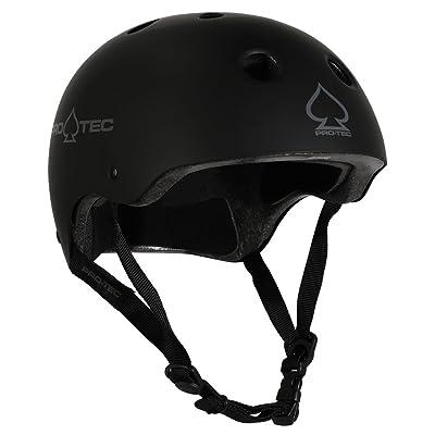 Pro-Tec Classic Skate Helmet, Matte Black, X-Large : Sports & Outdoors