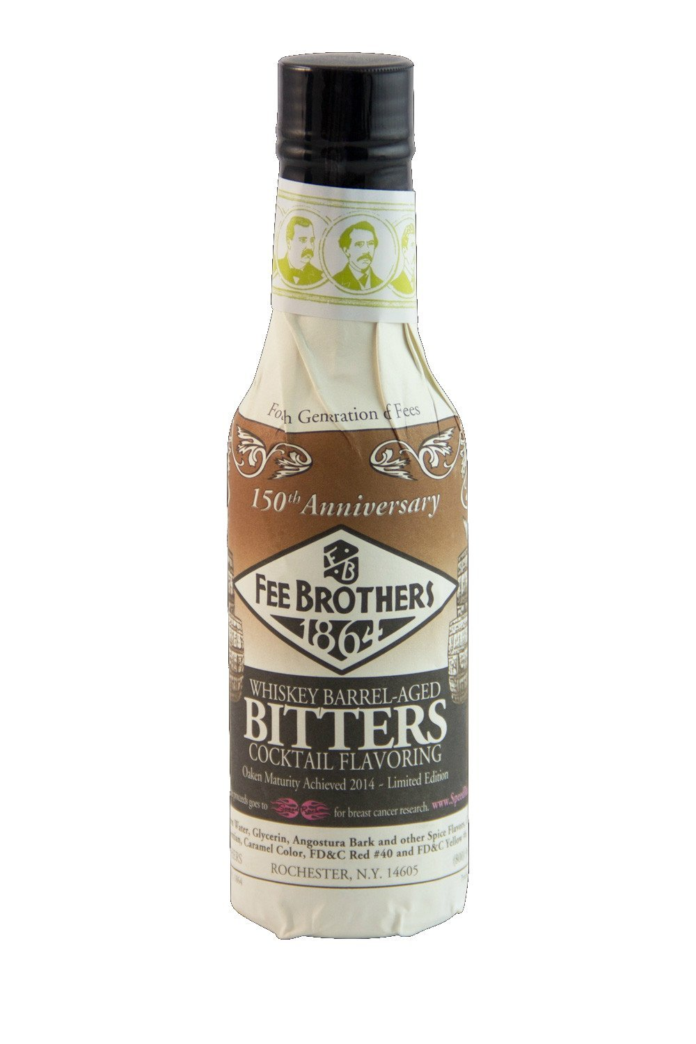Fee Brothers Whiskey Barrel-Aged Bitters 5oz
