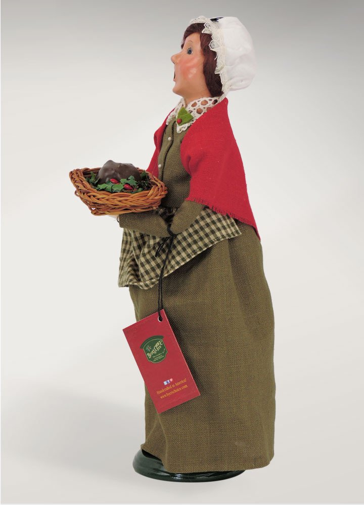 Byers Choice Mrs Cratchit Caroler Figurine 2112A from The A Christmas Carol Collection