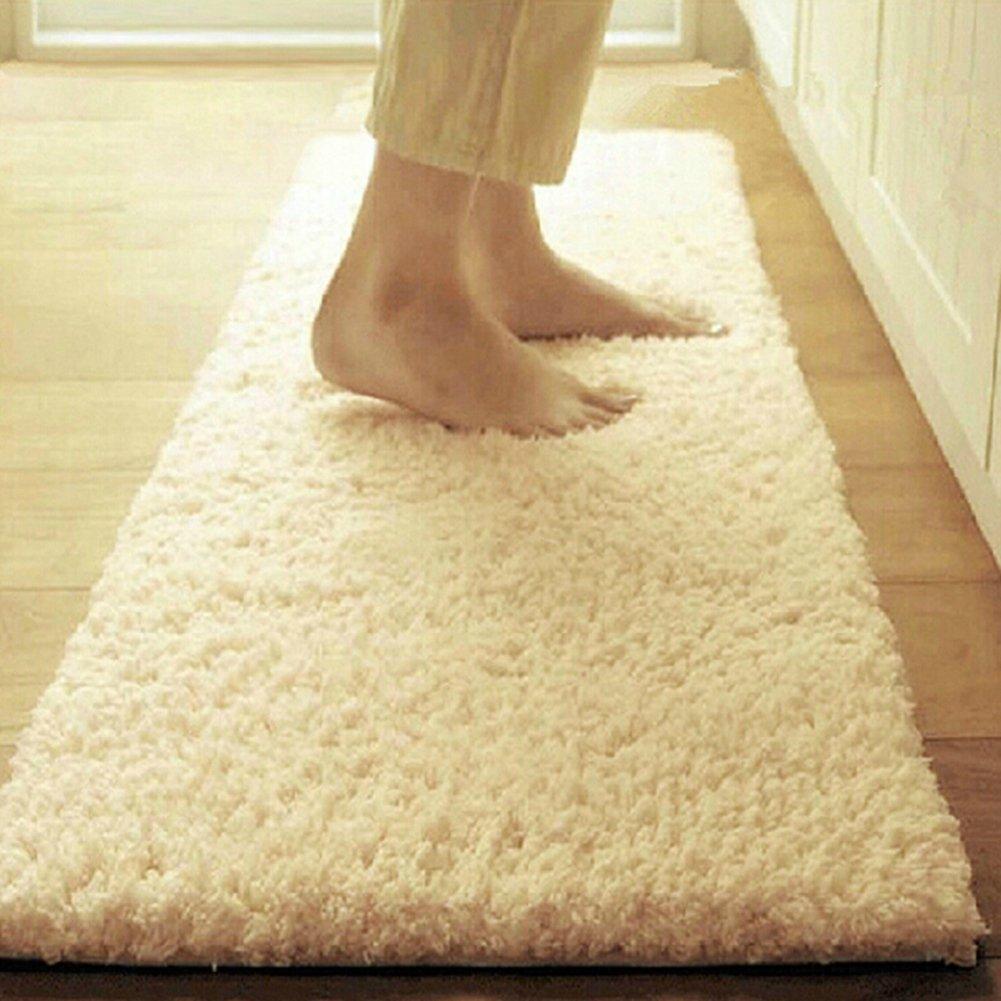 foot Pad/Bathroom water-absorbing anti-skidding mat/Long kitchen mats/Living room doormat-F 40x60cm(16x24inch) UYRTEWQ