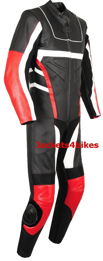 1PC NEW MOTORCYCLE LEATHER RACING SUIT ARMOR Red 38