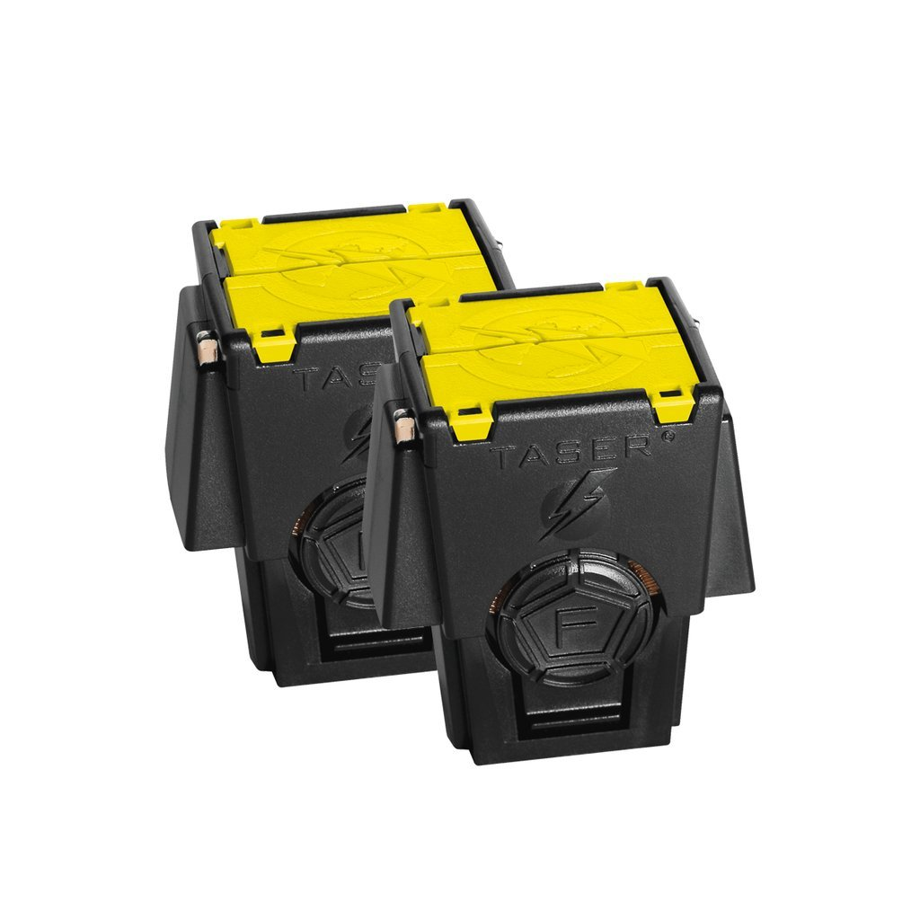 Taser 2 Pack Replacement Live Cartridges for The X26P, X26C and M26C by Taser