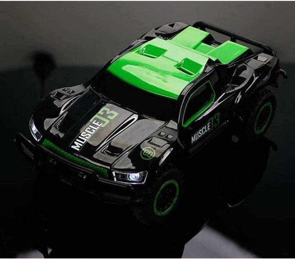 LFLLFLLFL Drahtlose Fernbedienung Spielzeugauto, Mini Electric Allradantrieb Auto Kinder Spielzeug Fernbedienung Auto Gebührenpflichtige Geschenke (Color : Orange) Green