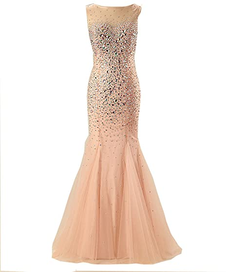 Changjie Womens Sleeveless Mermaid Prom&Homecoming Dresses For Teenagers