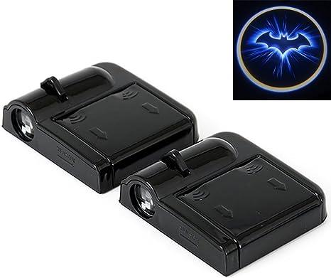 ZzWwYy LED-Auto-T/ür-Willkommens-Projektor Logo-Geist-Schatten-Licht Wireless f/ür Volkswagen Ford BMW Toyota Hyundai Kia Mazda Audi Auto-Einstiegsbeleuchtung-for Ford