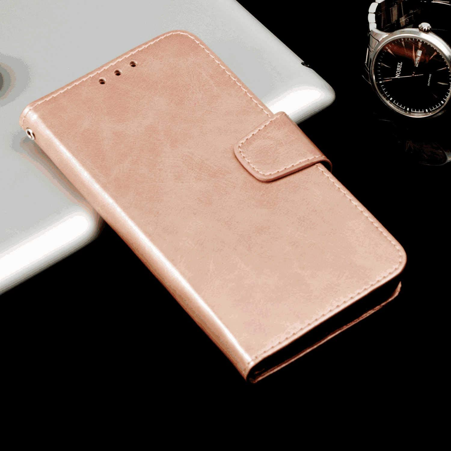 Cover for Leather Cell Phone case Kickstand Card Holders Extra-Durable Business Flip Cover LQinuan Samsung Galaxy S9 Flip Case