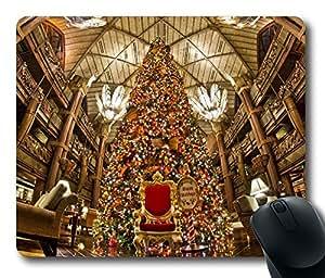 Design Mouse Pad Desktop Laptop Mousepads Animal Kingdom Lodge Christmas Tree Comfortable Office Mouse Pad Mat Cute Gaming Mouse Pad