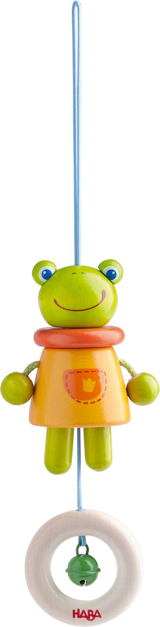 HABA Magic Frog Wooden Dangling Figure (Made in Germany)