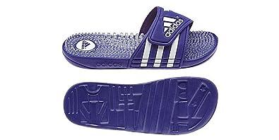 5681c86fb7db13 adidas New Women s Adissage Fade G95509 Running White Purple Slide (WOMEN  SIZE 8