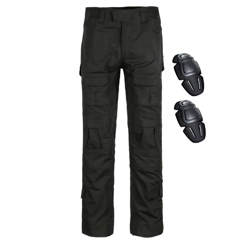 98d6c0a131b QMFIVE Pantalones de Airsoft, Pantalones de Combate de Camuflaje Camo  Combat BDU Pantalones para Paintball de ejército Militar táctico